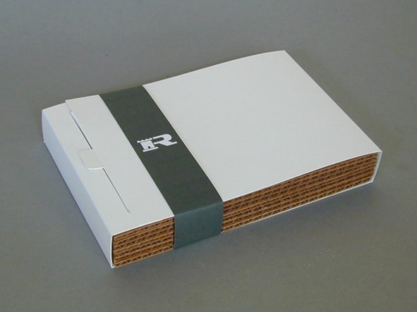 Folding box-/ corrugated board sample